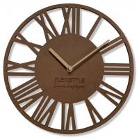 Nástenné hodiny Loft Piccolo bronze Flex z219-9a-dx, 30 cm