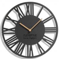 Nástenné hodiny Loft Piccolo, Flex z219-1-d-x, 30 cm
