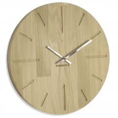 Drevené nástenné hodiny Flex z201a d-0-x, 30 cm