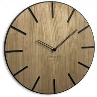 Drevené nástenné hodiny Wood art Flex z216-1d-1, 30 cm