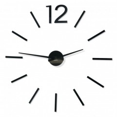 3D Nalepovacie hodiny DIY ADMIRABLE XL SWEEP 40B-1, 100-130cm