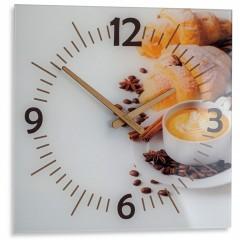 Nástenné sklenené hodiny Colazione Flex z51a s-d-x, 30 cm