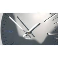 Nástenné akrylové hodiny Trim Flex z112-1a0-x, 30 cm, sivé