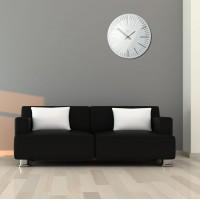 Nástenné akrylové hodiny Trim Flex z112-2-0-x, 30 cm, biele
