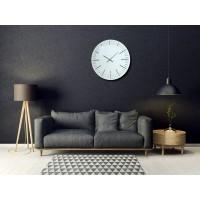 Nástenné akrylové hodiny Trim Flex z112-2-0-x, 50 cm, biele