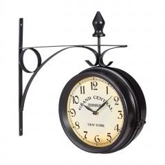 Staničné hodiny obojstranné RD6292, 22cm