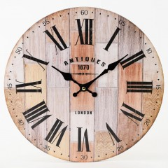 Nástenné hodiny, Flor0133, Antiques, 34cm