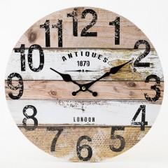 Nástenné hodiny, Flor0145, Antiques, 34cm