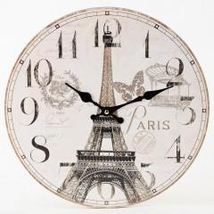 Nástenné hodiny, Flor0146, Paris, 34cm