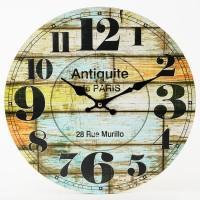 Nástenné hodiny, Flor0147, Antiquite de Paris, 34cm