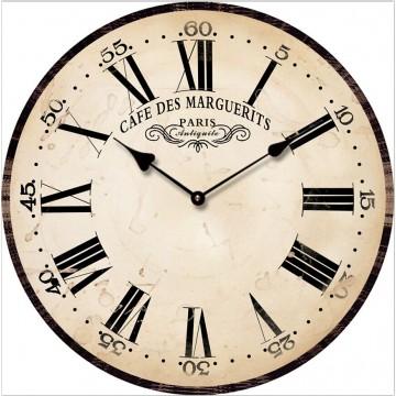 Nástenné hodiny Cafe De Margueritz, Fal6281, 30cm