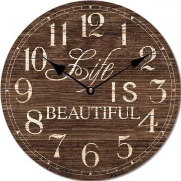 Nástenné hodiny Beatiful, Fal6284, 30cm