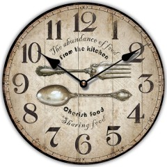 Nástenné hodiny Fal6287 From the Kitchen, 30cm