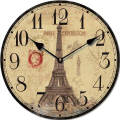 Nástenné hodiny Fal6295 Paris Exposition, 30cm