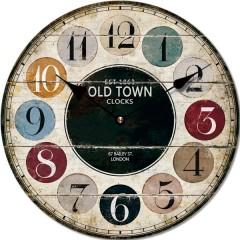Nástenné hodiny Fal6296 Old Town, 30cm
