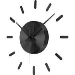 Nástenné hodiny Renkforce HD-W-83429, 40cm čierne