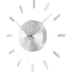 Nástenné hodiny Renkforce HD-W-83428, 40cm strieborná