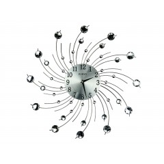 Nástenné hodiny Crystal Spiral Evevo, 50cm