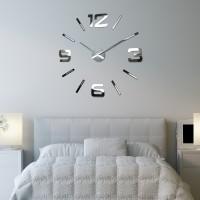 3D Nalepovacie hodiny DIY ADMIRABLE XL SWEEP z540g01, MX100-130cm