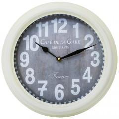 Nástenné hodiny, Flor0018, Café De La Gare, 27cm