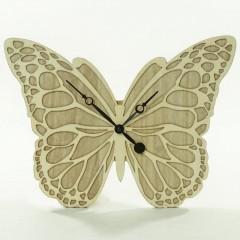 Nástenné hodiny Motýľ, Flor0037, 40cm