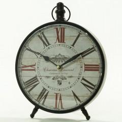 Stolové hodiny motív Budík, Flor0051, 24cm