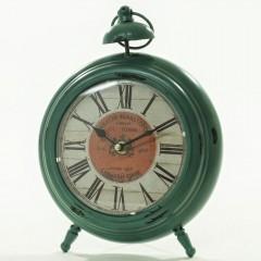 Stolové hodiny motív Budík Antik Green, Flor0054, 28cm