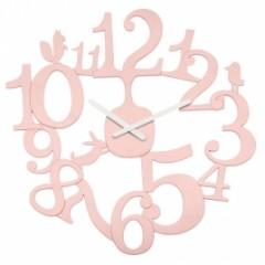 Nástenné hodiny PI:P Koziol, ružová, 45cm