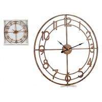 Kovové vintage hodiny Giftdecor, 60cm