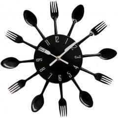 Nástenné hodiny Príbor zent 2645, 25 cm, čierne