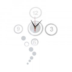 Nalepovacie nástenné hodiny, DIY d5 Circles mini, 60cm