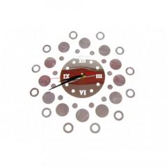 Nalepovacie nástenné hodiny Circles 7A7, 30cm