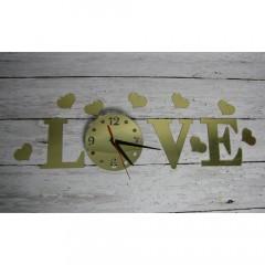 Nalepovacie nástenné hodiny Love 7A7, 50cm