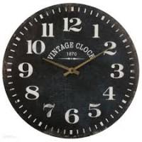 Nástenné hodiny Atmosphera Vintage Clock, 1870  JJA8120, 38cm