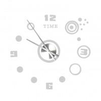 3D Nalepovacie hodiny DIY Clock Circle q70I, 80cm