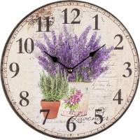Nástenné hodiny Levanduľa, BLH3001, 30cm