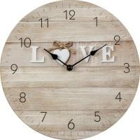 Nástenné hodiny Love, Fal3013, 30cm