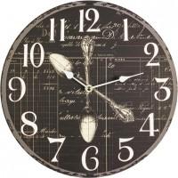 Nástenné hodiny Fal4046 Lyžička, 30cm