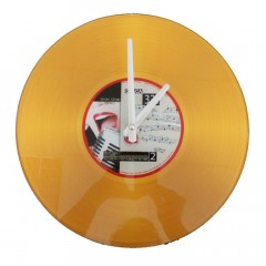 Nástenné hodiny Platňa, STZ, 30cm, rôzne farby