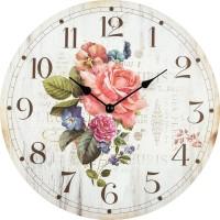 Nástenné hodiny Ruža Fal3047, 30cm