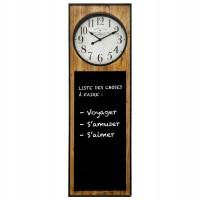Nástenné hodiny s kriedovou tabuľou Atmosphera 3802, 115 cm
