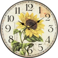 Nástenné hodiny Slnečnica BLF34013, 30cm