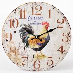 Nástenné hodiny, Flor0099, Cuisine, 34cm