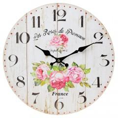Nástenné hodiny, Flor0111, France, 34cm