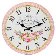 Nástenné hodiny, Flor0118, Perfumers, 34cm