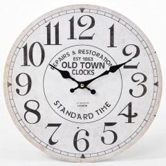 Nástenné hodiny, Flor0072, Old Town Clock, 34cm