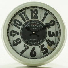 Nástenné hodiny Flor0058, Old Town Clock, 38cm