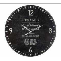 Nástenné vintage hodiny On aime Atmosphera 2366, 57 cm