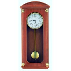 Drevené nástenné hodiny ASSO A19/326/7, 59cm