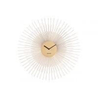 Nástenné hodiny ka5818gd Karlsson Peony 60cm